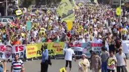 حشود هائلة في مسيرة المهندسين الجمعة ٢٧-٩