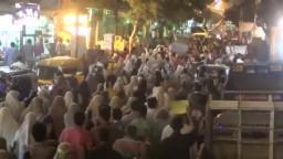 مظاهرات بالعصافرة والمندرة ضد الانقلاب