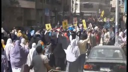 ربع مليون من أبناء الفيوم في مسيرة 6 أكتوبر