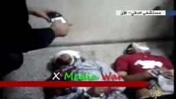 مشاهد من مستشفى الدقى لشهداء مظاهرات 6-10
