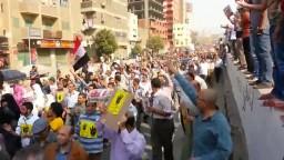 أكبر مسيرة فى تاريخ المطرية ضد الانقلاب 6 /10