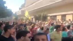 أكبر مسيرة منذ الانقلاب تطوف كفرالزيات
