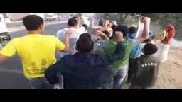 سلسلة بشرية لأطفال وشباب بصهرحت ضد العسكر