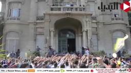 طلاب جامعة عين شمس ينتفضون ضد الانقلاب