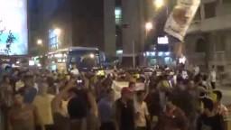 مسيرة ليلية لطلاب الإسكندرية رفضا للانقلاب