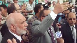 حوار مع محامى بعد منعه من الحضور مع الرئيس