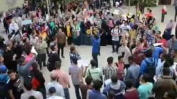 انتفاضة كلية آداب الاسكندرية 7-11-2013