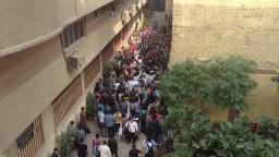اعتصام طلاب معهد الجيزة للهندسة