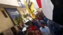 هتافات رابعة ترج شوارع الدقهلية 11_11_2013