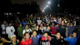 ثورة ضد الانقلاب بالمدينة الجامعية بالأزهر