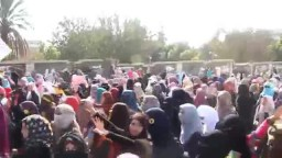 احتجاجات بعد الحكم على الطلاب  بالسجن 17 عام