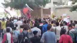 طلاب ضد الإنقلاب بالإسكندرية 14-11-2013