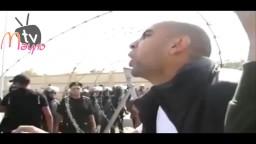 شاب يعظ جنود وضباط جيش السيسي
