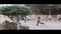 لحظة اقتحام المدرعات جامعة المنصورة
