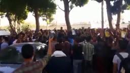مظاهرة طلاب جامعة أسيوط ضد الإنقلاب -18-11-2013