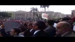 انتفاضة طلاب جامعة القاهرة 1-12-2013