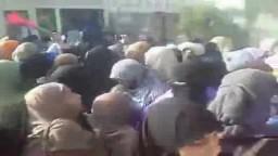 الأمن يضرب بالأيدي والأرجل حرائر الأزهر