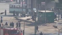 الإعتداء على حرائر أسيوط بميدان الأزهر 10-12