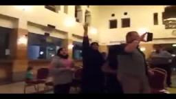 هتافات المصريون فى ندوة لدستور الانقلاب