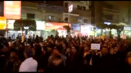 حشود ضخمة مناهضة للإنقلاب العسكري بفيصل
