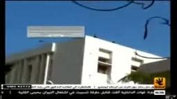 الامن يضرب الرصاص من فوق جامعة الزقازيق