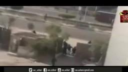 أخطر عملية قنص وسحل لطالب امام جامعة الازهر