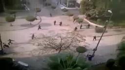 الامن فى جامعة الزقازيق وضرب وسحل الطلاب