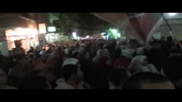 شاهد صمود مسيرة البيطاش الرافضه للانقلاب