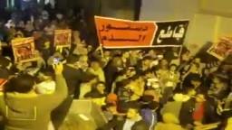 ثوار العامرية يتحدون دستور السيسي 12-1-2014