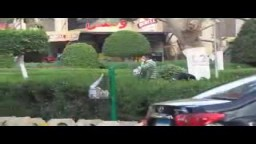 اقتحام جامعة عين شمس واطلاق الرصاص الحى
