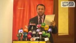 حزب مصر القوية  يعلن مقاطعته الاستفتاء