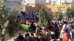 جنازة شهيد سوهاج شهيد دستور الدم 15/ 1/ 2014