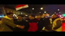باريس - مسيره ضد الانقلاب رغم البرد و المطر