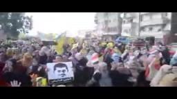 حشود الثوار التى ليس لها آخر بمسيرة الرمل