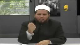 سلامة عبد القوي وهو يصرخ في وجه الشيخ حسان