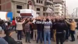مسيرة لشباب ضد الانقلاب بدمياط الاحد 2/ 3