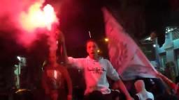 الالتراس يشعلون الهتاف في مسيرة عزبة سعد