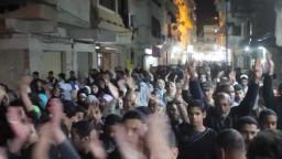 مسيرة بالهانوفيل تهتف ضد العسكر- 2-3-2014