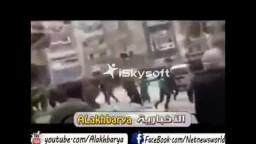 لحظة الاعتداء على المصلين  مسجد الفضالي 7/ 3