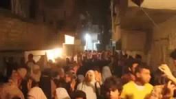 مسيرة حاشدة بمنطقة فضة ضد الانقلاب وقادته
