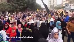 شاهد حشود المطرية و شبرا ضد الانقلاب