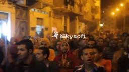 مسيرة حاشدة بمنطقة فضة رفضاً للانقلاب