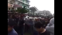 مسيرة لطلاب ضد الانقلاب دمياط الجديدة