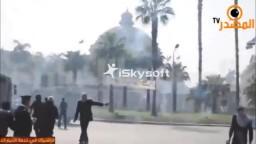 الداخلية تطلق الرصاص على طلاب جامعة القاهرة