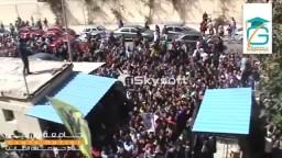حشود ضخمة بمظاهرة علوم اسكندرية ضد العسكر