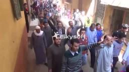 مسيرة لأهالي كفرطحا بالقليوبية ضد الانقلاب
