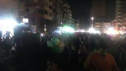 حشود الثوار في مسيرة المطرية الثلاثاء 1-4-2014