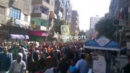 الحشود فى مسيرة المطرية 4/ 4 / 2014