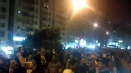 جانب من مسيرة عين شمس الثلاثاء 8-4-2014