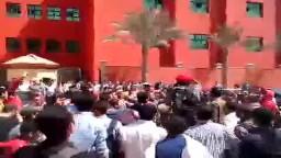 طلاب  ( مودرن أكاديمي ) منددين بالانقلاب